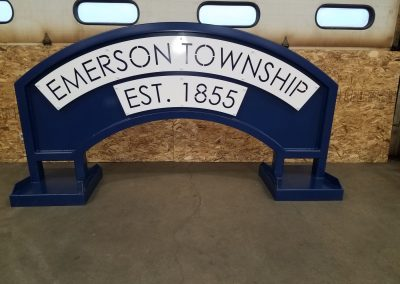 Emerson Township Sign